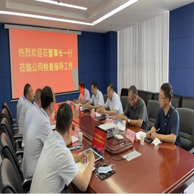 甘肃省公航旅集团董事长石培荣莅临东方种业公司检查指导工作