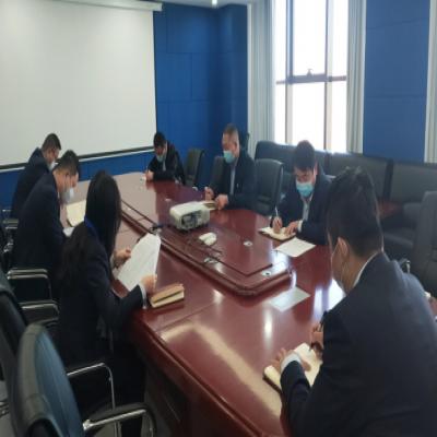 东方种业公司组织召开疫情防控工作会议
